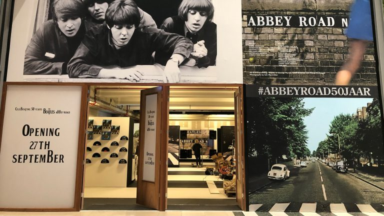Beatles - PopUp store