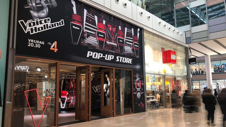 The Voice - PopUp store